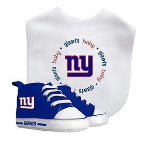 NFL New York Giants Baby Bib & Pre Walker Set
